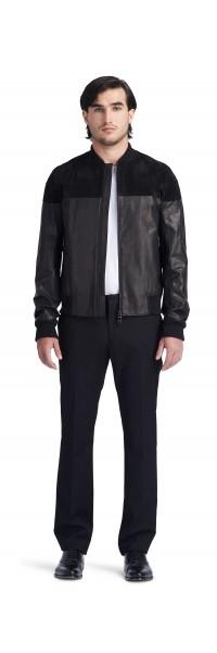 Ben Bomber Leather Jacket