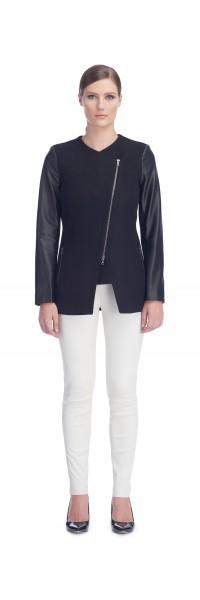 Alexis Black Leather Jacket