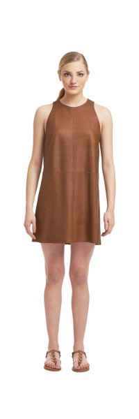 Daria Unlined leather Dress