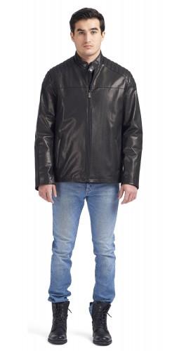 Fernando Black Moto Jacket