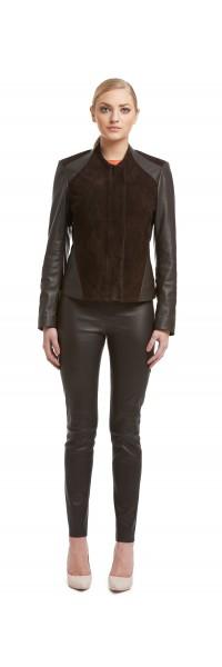 Karen Brown Suede/Leather Jacket