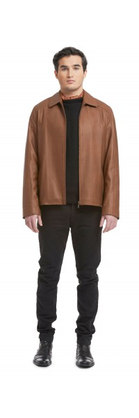 Mitch Lambskin Leather jacket
